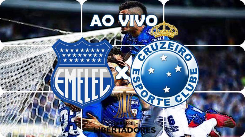 Onde ver o Jogo Emelec e Cruzeiro ao vivo pela Libertadores. Foto/Montagem