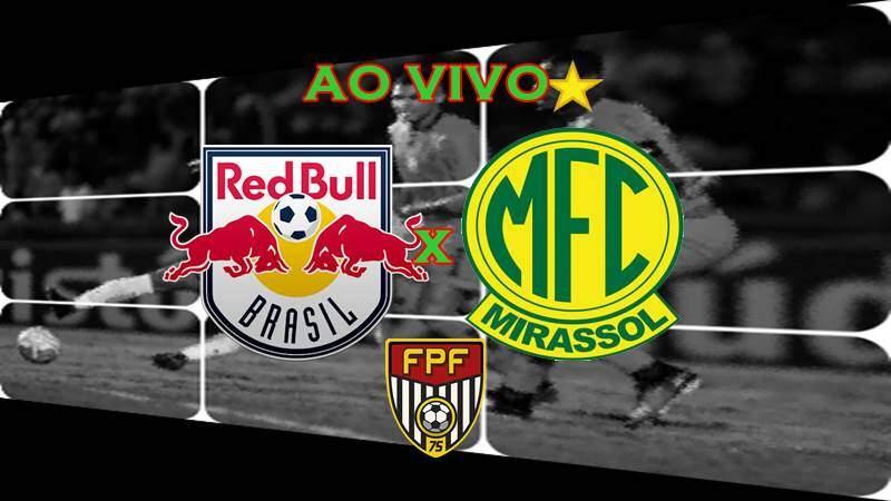 Onde assistir Red Bull Brasil x Mirassol ao vivo online nesta segunda-feira. Foto/Montagem