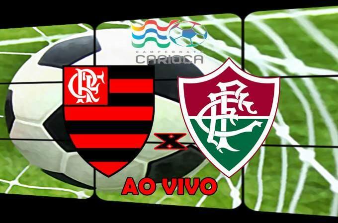 Veja onde ver o Jogo do Flamengo e Fluminense ao vivo online. Foto/Montagem
