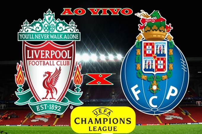 Onde assistir Liverpool vs Porto ao vivo online. Foto/Montagem