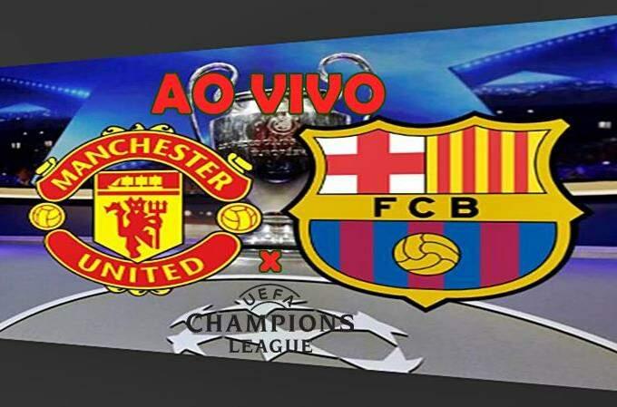 Veja onde assistir Manchester e Barcelona Liga dos Campeões. Foto/Montagem