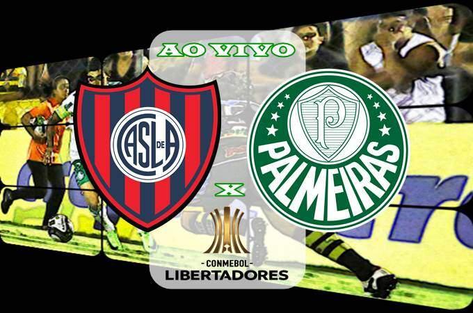Veja onde assistir Palmeiras x San Lorenzo ao vivo online na Libertadores. Foto/Montagem