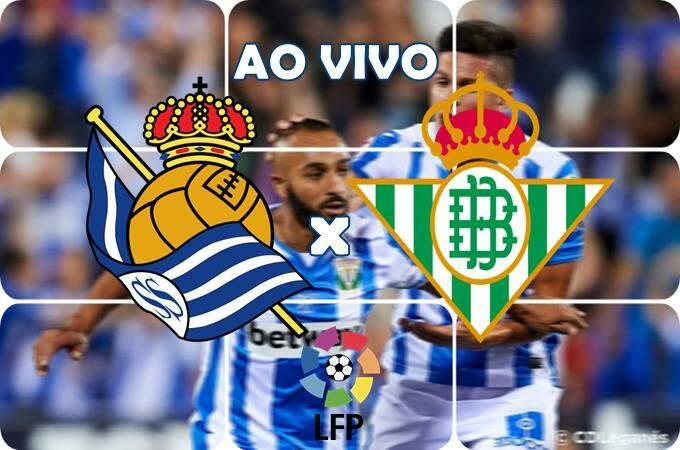 Onde assistir o jogo Real Sociedad x Betis ao vivo online. foto/Montagem