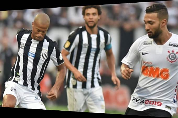 Onde ver o jogo Santos e Corinthians ao vivo online nesta segunda.. Foto/Reprodução