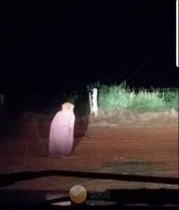 Suposto Fantasma de Brasnorte / Reprodução: Internet