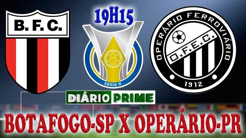 Saiba como onde assistir jogo do Botafogo-SP x Operário-PR ao vivo online nesta Terça-Feira (24.09) / Crédito montagem imagem: Robson L.