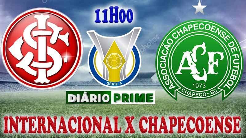 Saiba como onde assistir jogo do Internacional x Chapecoense ao vivo online neste Domingo (22.09) / Crédito montagem imagem: Robson L.