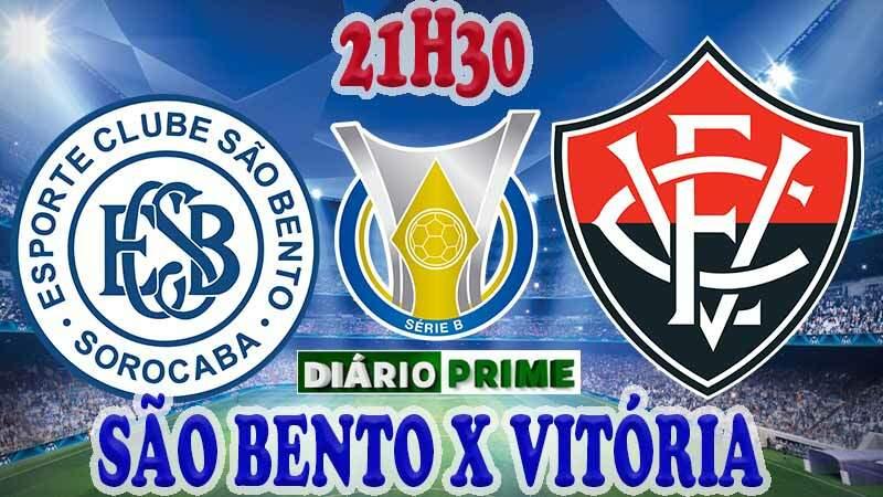 Saiba como onde assistir jogo do São Bento x Vitória ao vivo online nesta Terça-Feira (17/09) / Crédito montagem imagem: Robson L.