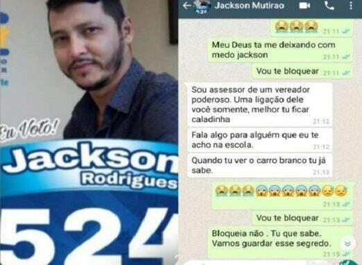 Assessor do Vereador 'Raulzinho' envia fotos nudez para adolescente de 13 anos diz Portal do Antonio Zacarias