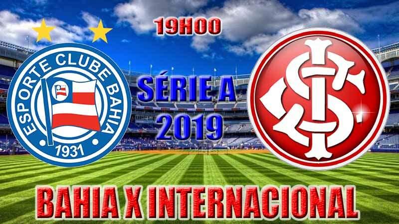Onde assistir o jogo ao vivo: jogo do Bahia x Internacional ao vivo online / Crédito montagem de imagem: Robson L.