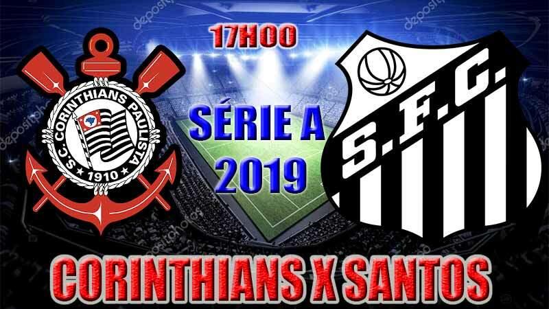 Onde assistir o jogo ao vivo: jogo do Corinthians x Santos ao vivo online / Crédito montagem de imagem: Robson L.