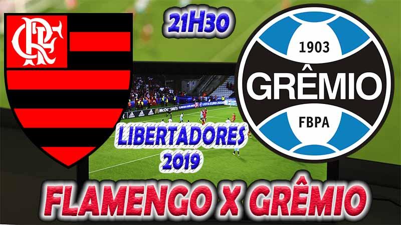 Onde assistir o jogo ao vivo: jogo do Flamengo x Grêmio ao vivo online / Crédito montagem de imagem: Robson L.