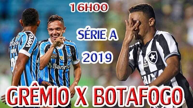 Onde assistir o jogo ao vivo: jogo do Grêmio x Botafogo ao vivo online / Crédito montagem de imagem: Robson L.