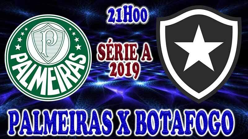 Onde assisti o jogo ao vivo: jogo do Palmeiras x Botafogo ao vivo online / Crédito montagem de imagem: Robson L.