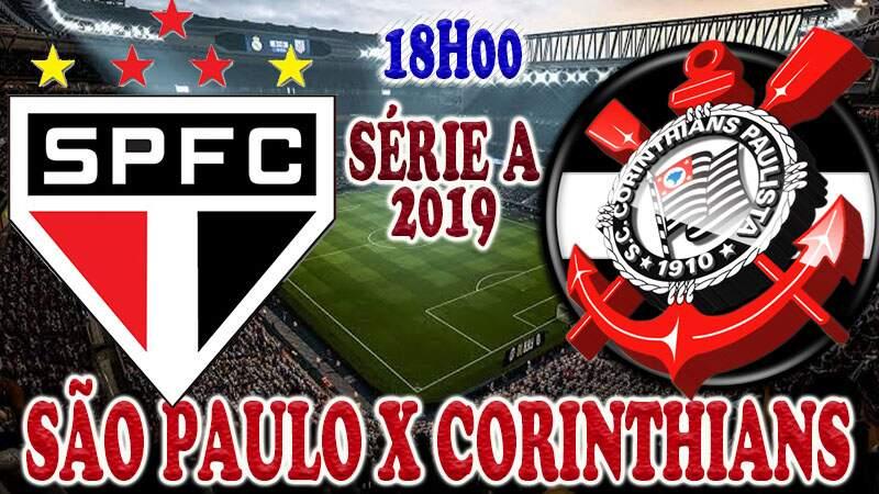 Onde assistir o jogo ao vivo: jogo do São Paulo x Corinthians ao vivo online / Crédito montagem de imagem: Robson L.