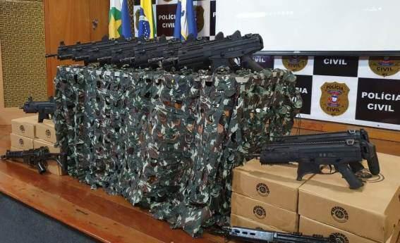 Nova Mutum e outras delegacias do MT recebem mais armamento