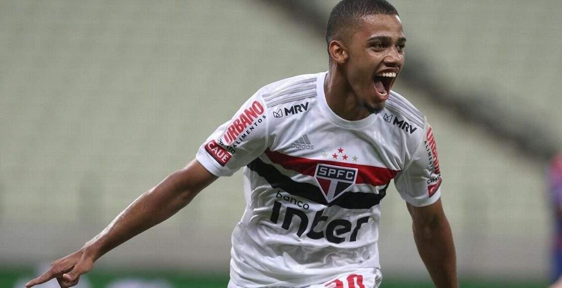 São Paulo conta com a eficiência de jogadores da base para balançar as redes no Brasileirão