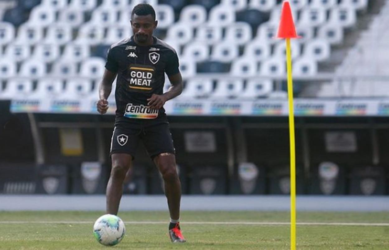 Invertida no Brasileirão: feminino chegou à elite, mas Botafogo masculino luta para não cair. Imagem: Reprodução Instagram @botafogo