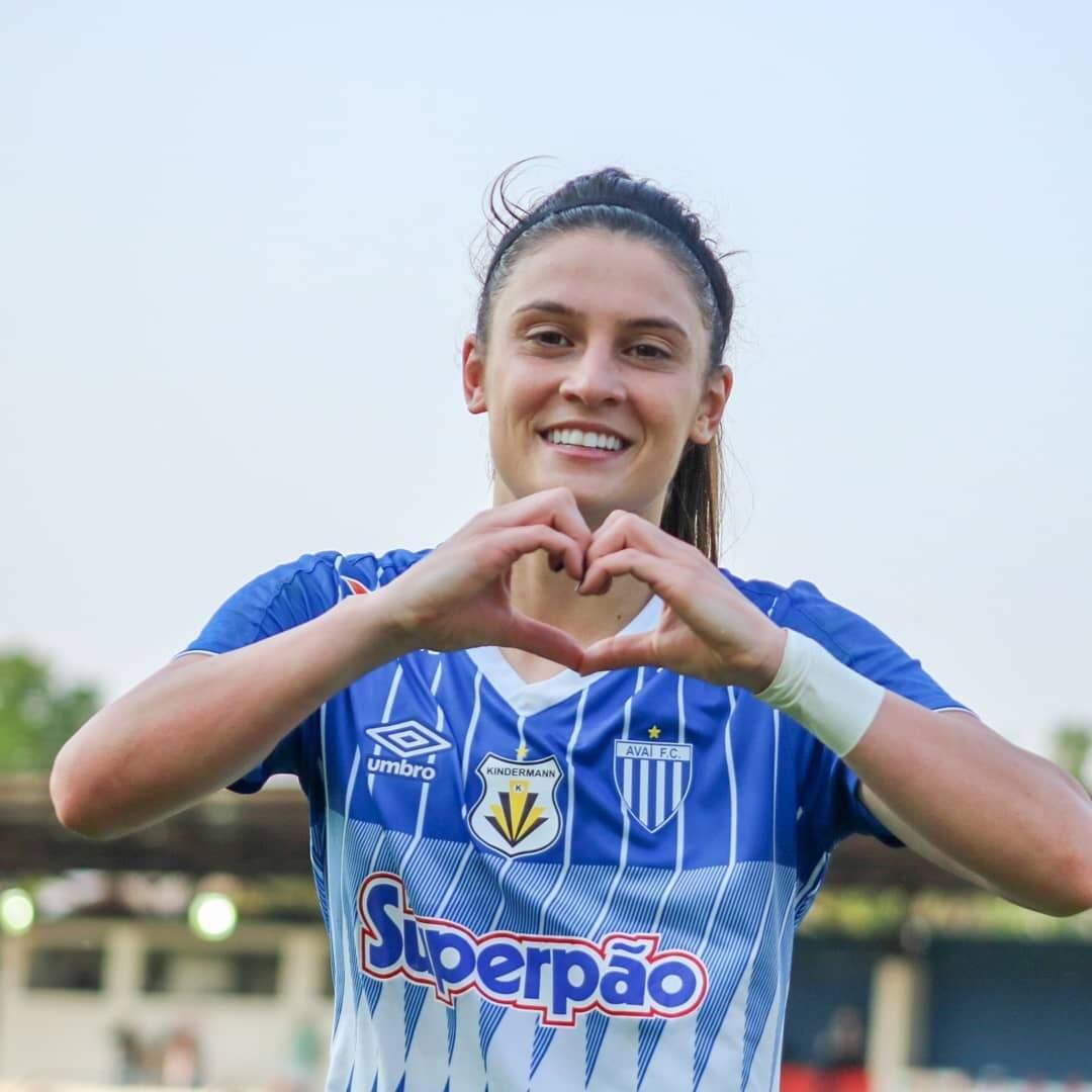 Libertadores feminina: Conheça as representantes do futebol brasileiro. Imagem: Reprodução Instagram @avai.kindermann