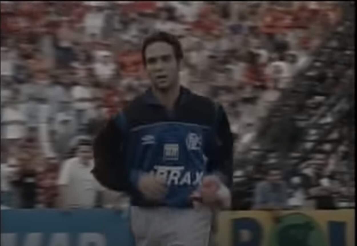 Curioso: 4 craques improvisados como goleiro. Imagem: Reprodução / Transmissão TV Globo