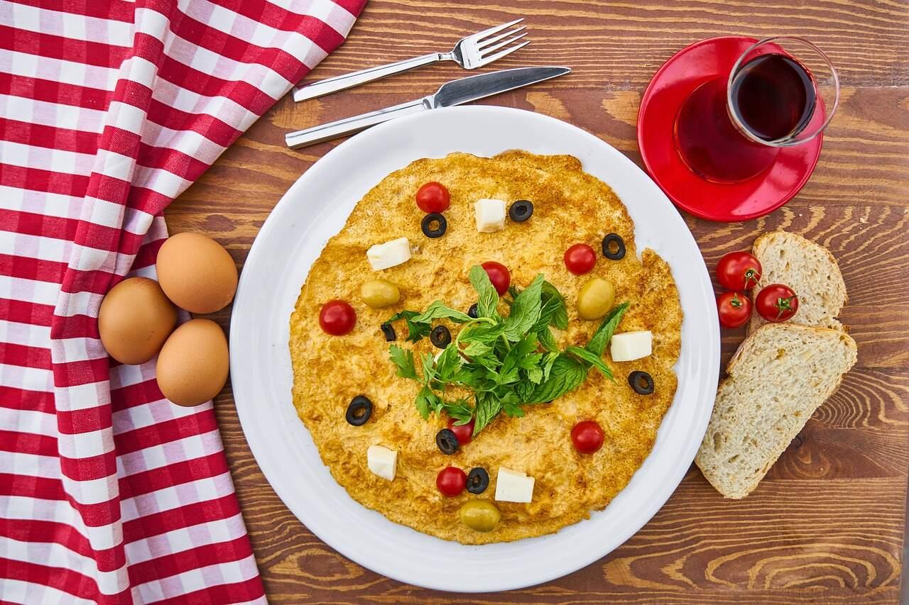 omelete de liquidificador receita