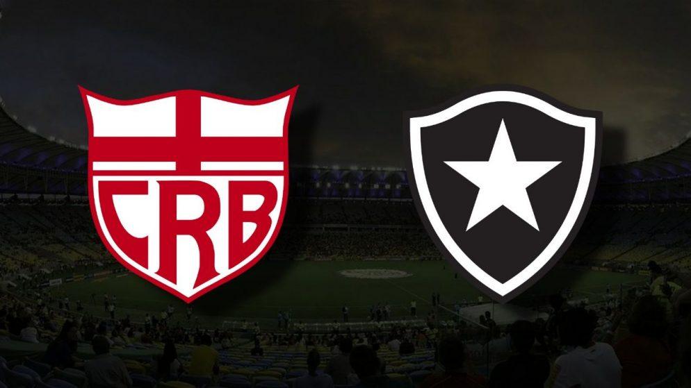 CRB e Botafogo fazem confronto direto na briga para chegar no G4. Imagem: Reprodução/Sitedeapostas.bet