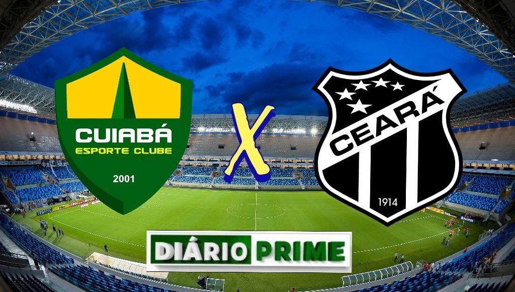 Cuiabá e Ceará duelam na Arena Pantanal pela 11ª rodada do Brasileirão 2021. Imagem: Divulgação/Diário Prime