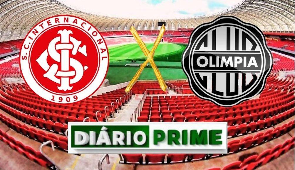 Inter recebe o Olimpia no Beira Rio em busca da classificação. Imagem: Divulgação/FutePrime