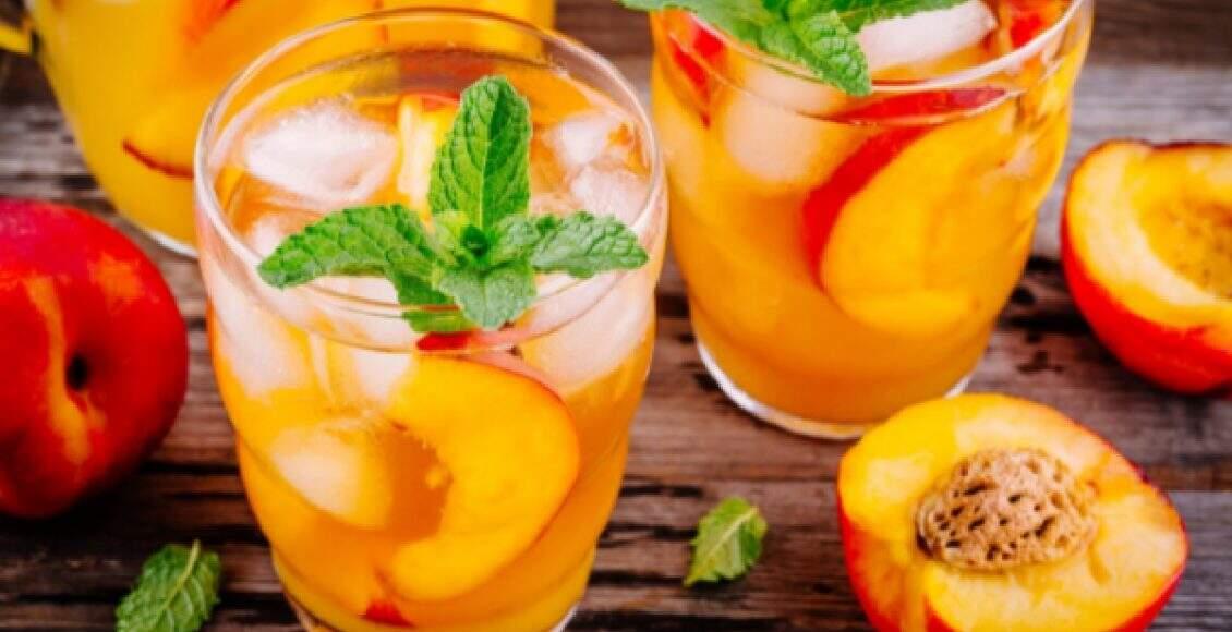 Drink de pêssego (Foto: Reprodução Canva)